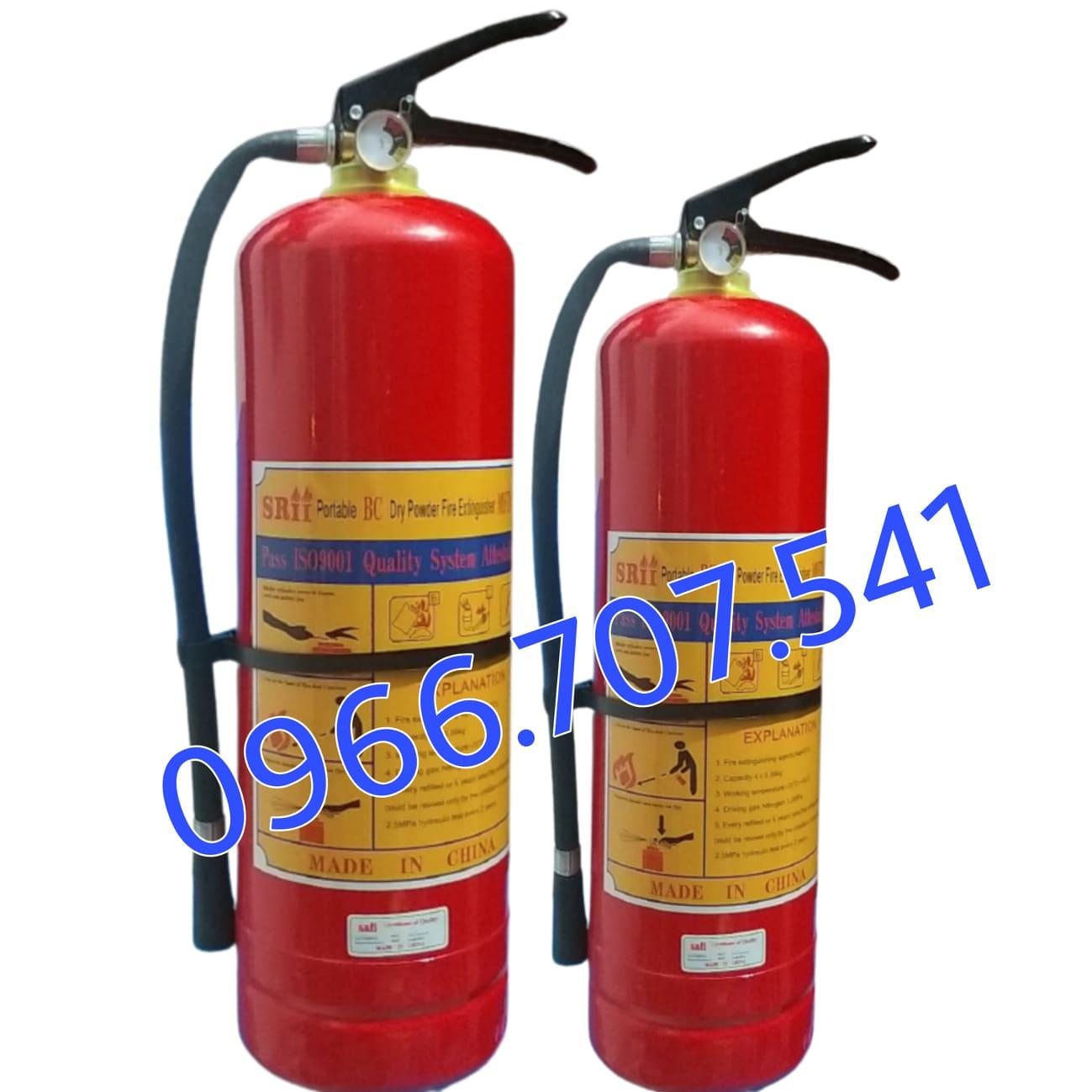 Bình chữa cháy MFZL8 ABC